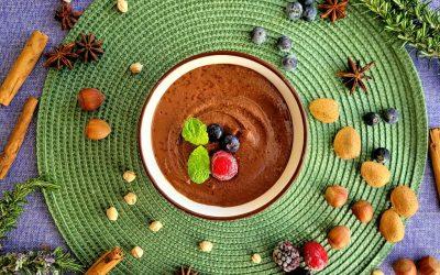 Crema de cacao casera, saludable y vegana