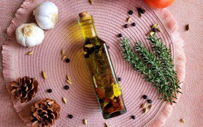 Aceite aromático casero