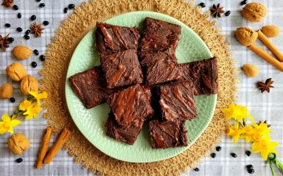 Brownie sin gluten para hacer en casa