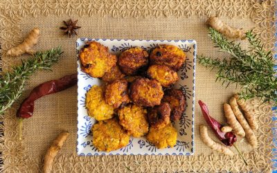 Croquetas veganas de curry