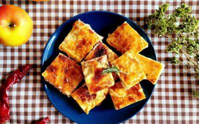 Empanada de salmón y queso