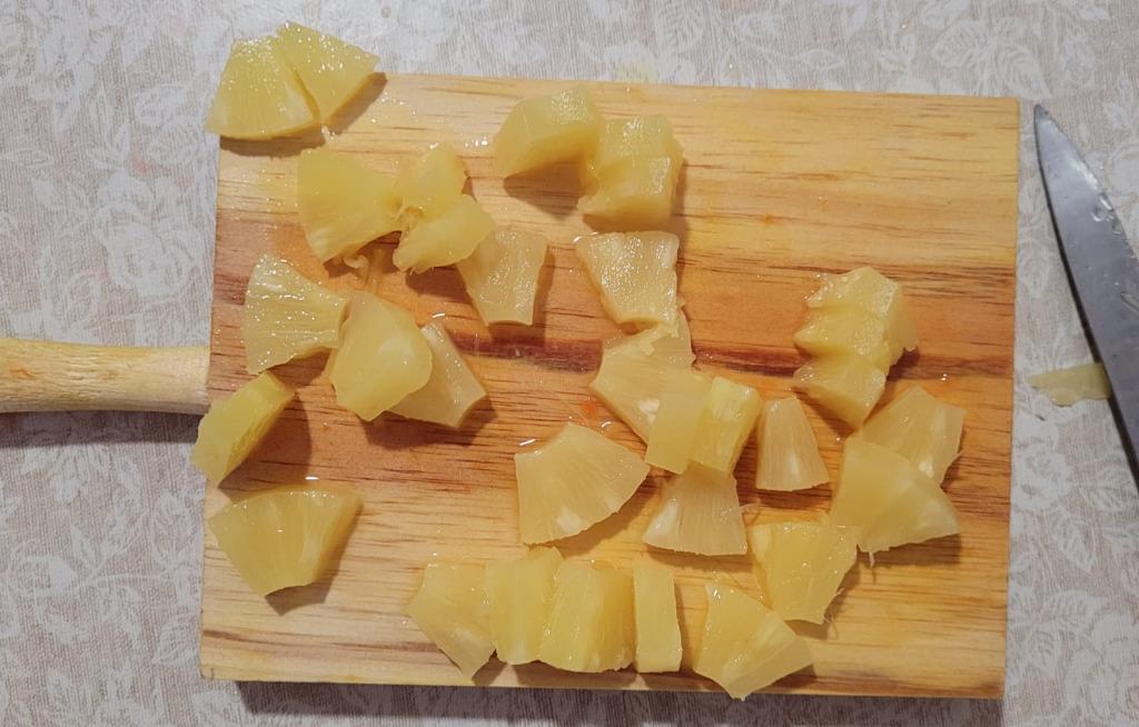 piña ensalada pasta