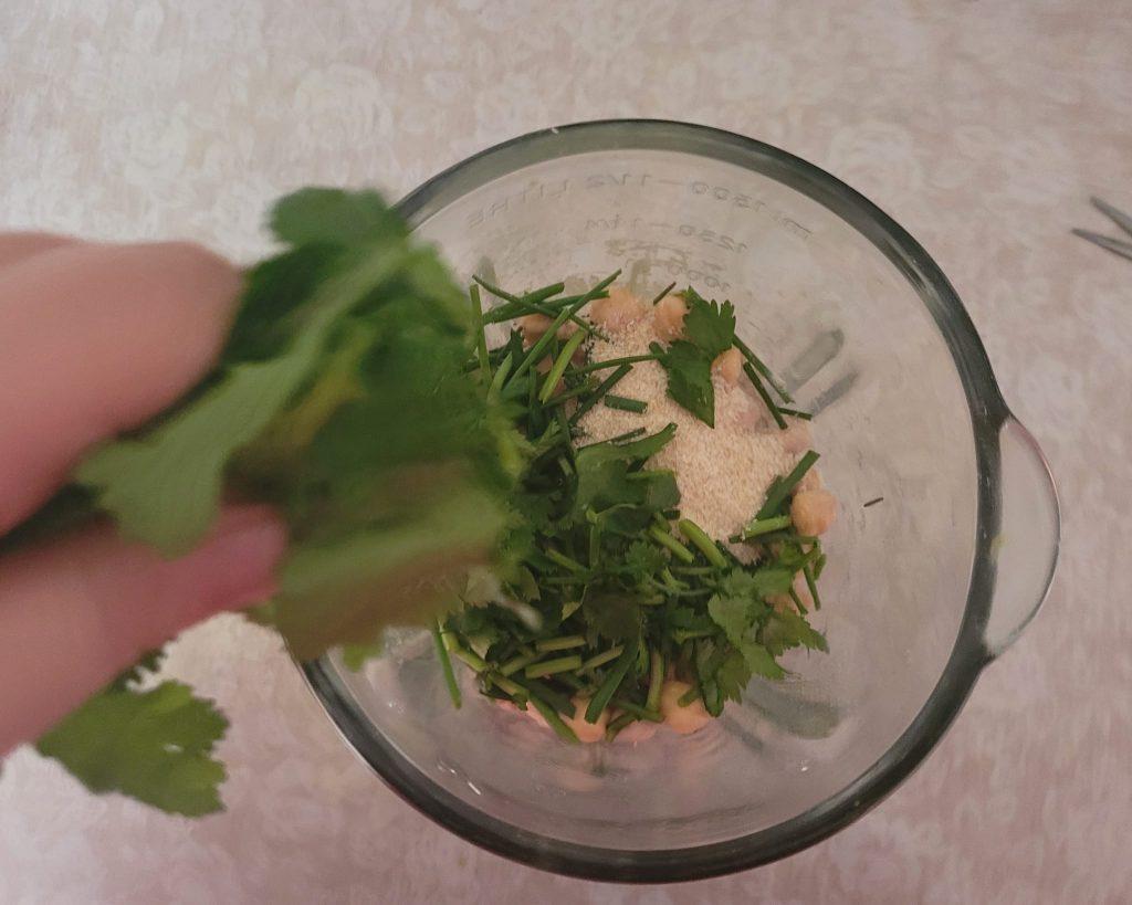 falafel casero receta