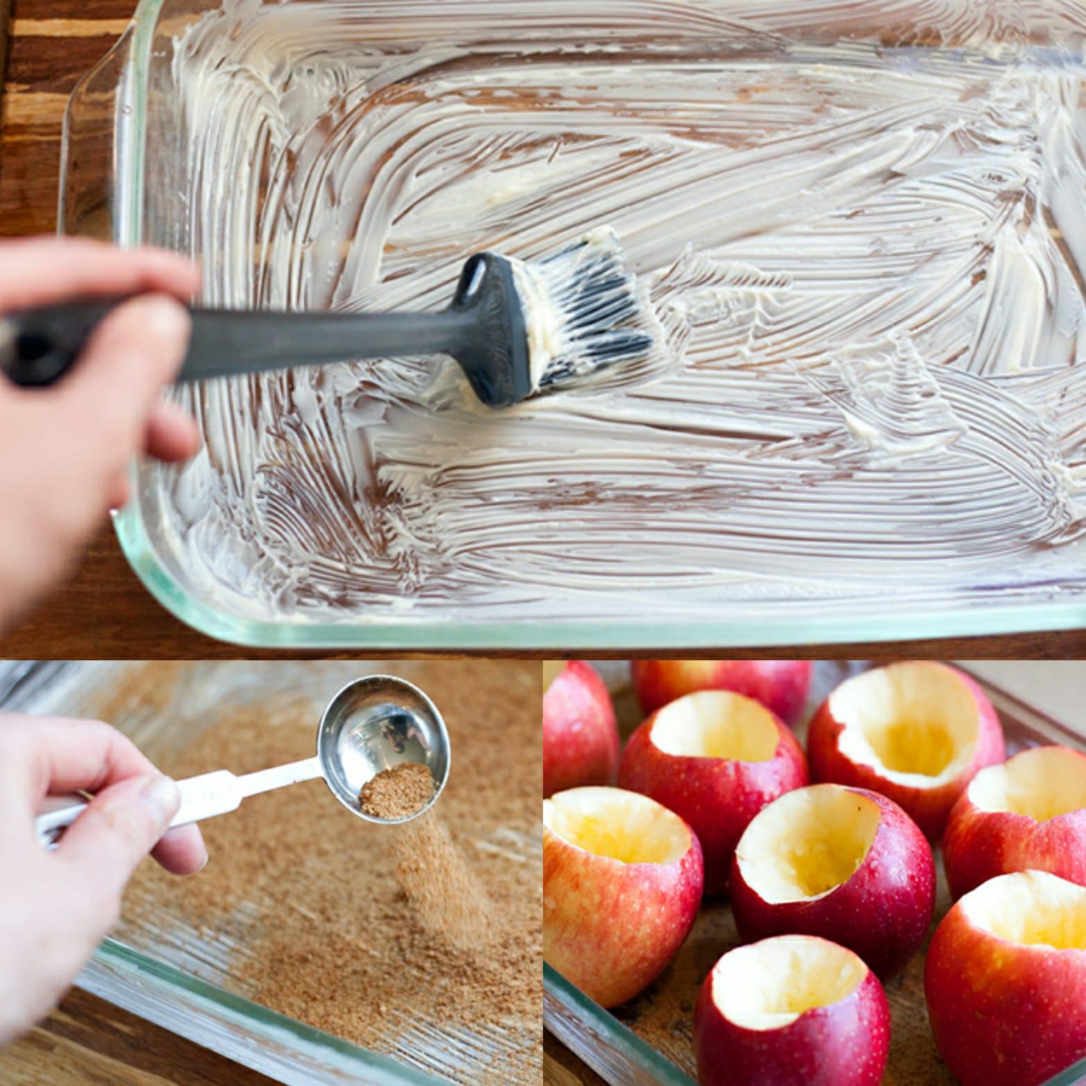 manzanas horno
