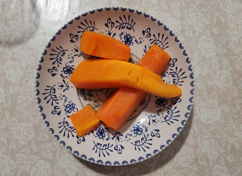 mousse calabaza vegana