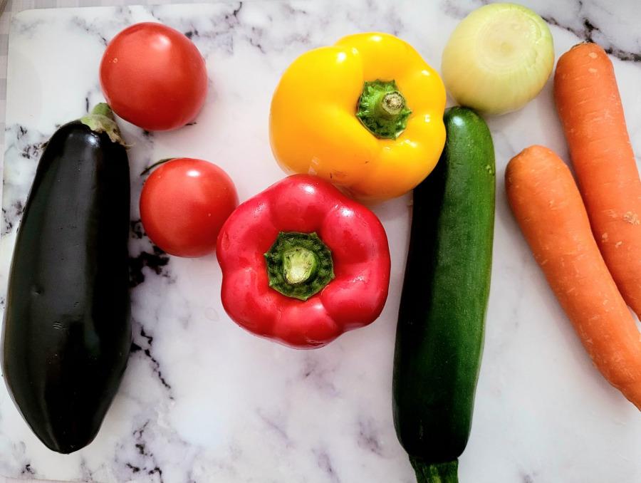 parrillada verduras