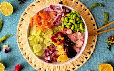 Poke Bowl Hawaiano para hacer en casa