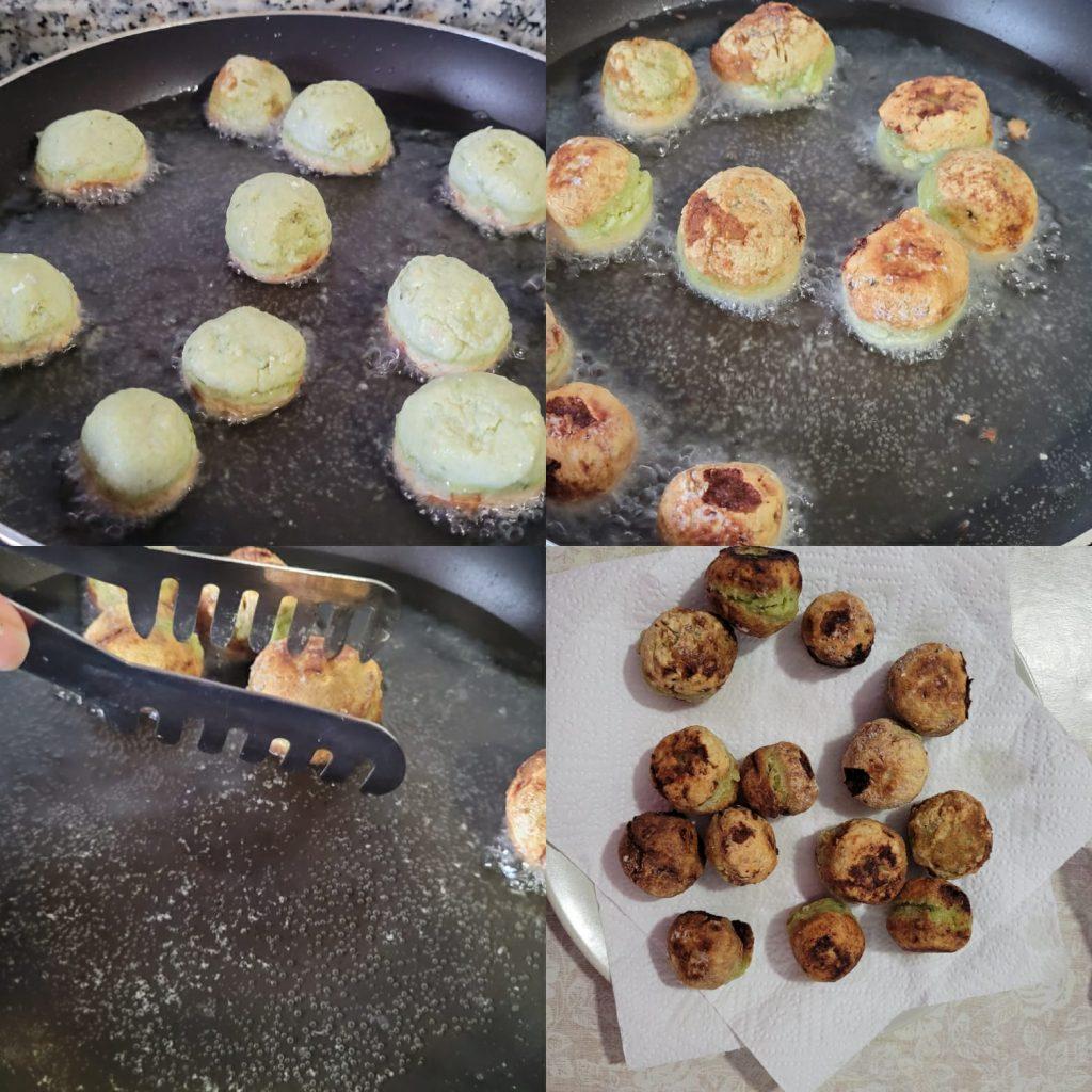 preparar falafel