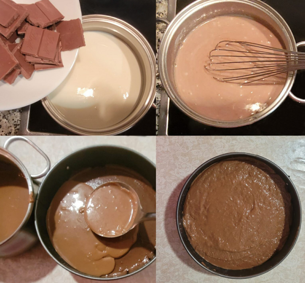 tarta de 3 chocolates
