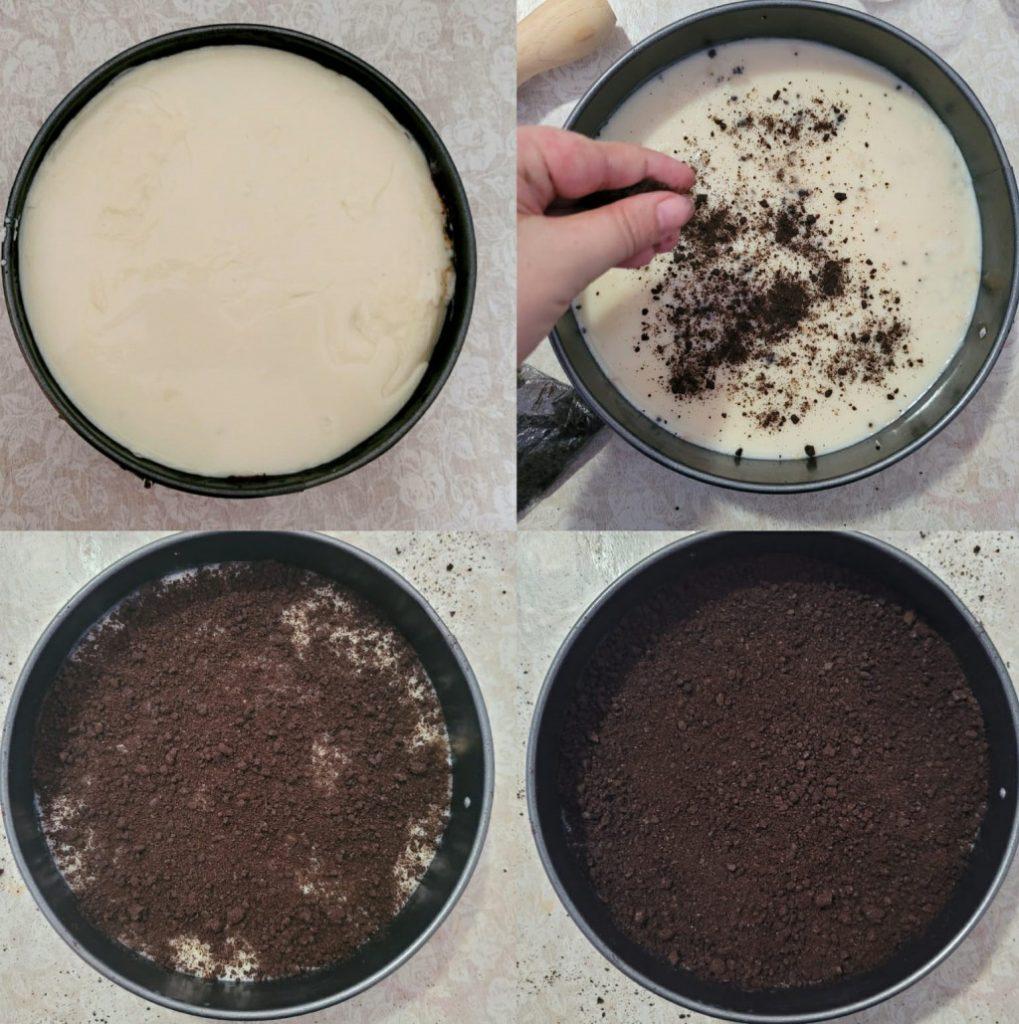 tarta de oreo casera