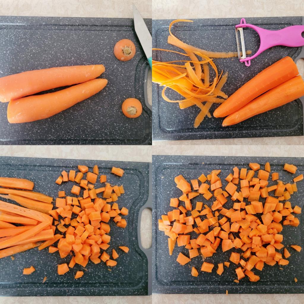 zanahoria fabes
